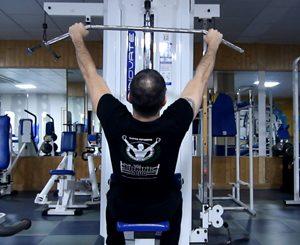 jalón dorsal frontal en polea alta archivos - Fitness Guia