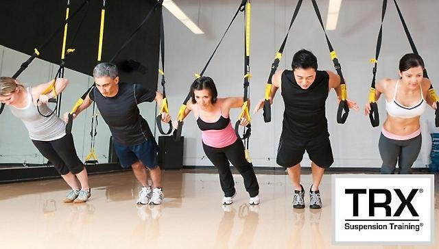 ejercicios trx pecho