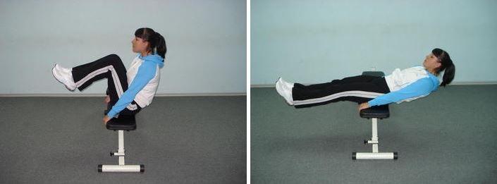 elevaciones de rodillas