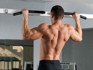 ganar peso en la barra horizontal