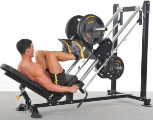 bombeo de los músculos de las piernas