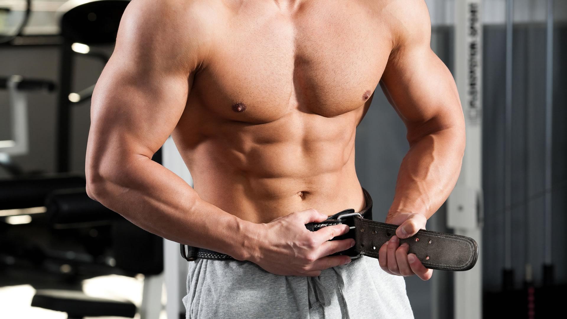 cinturón atlético para ejercicios de culturismo