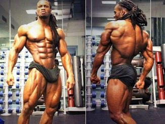 músculo sin esteroides